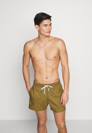 PREMIUM  - Shorts da mare - olive