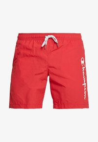 Champion - BEACH - Shorts da mare - red - 2