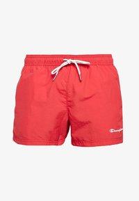 Champion - BEACH - Shorts da mare - red - 3