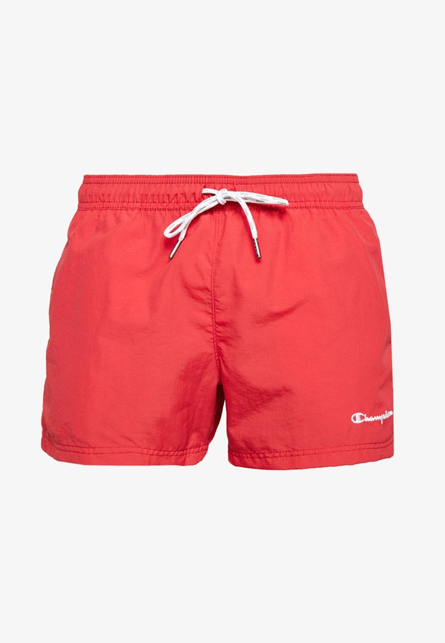 BEACH - Badeshorts - red