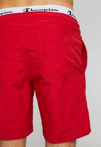 Champion - BEACH - Shorts da mare - red/black - 1