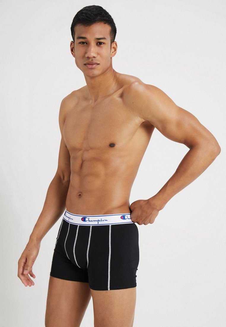 Champion - BOXER 3 PACK - Panties - black