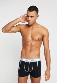 Champion - BOXER 3 PACK - Culotte - black/grey/red - 3