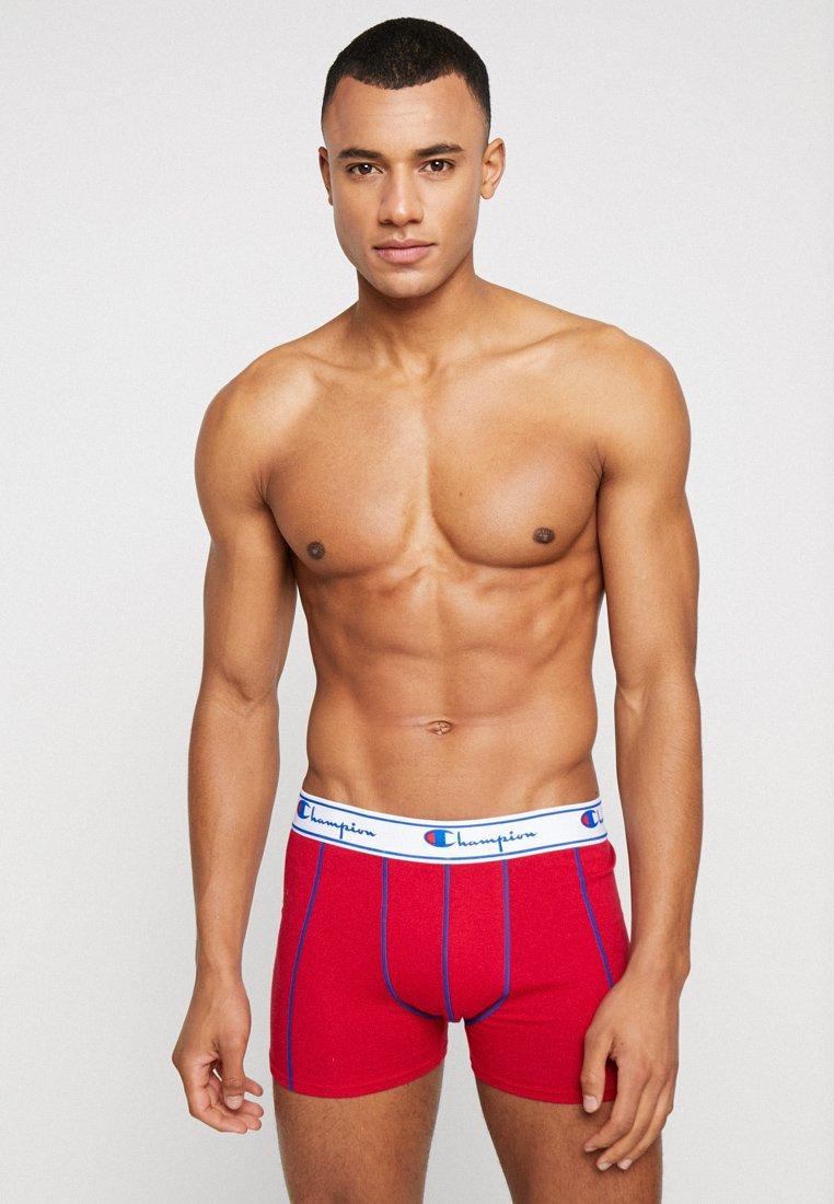 Champion - BOXER 3 PACK - Panties - black/grey/red