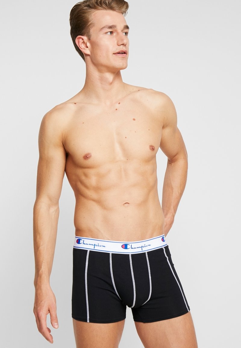 Champion - 3 PACK - Panties - white/blue/black