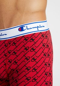 Champion - 3 PACK - Pants - black/red logo - 4