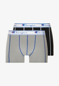 Champion - 2 PACK - Shorty - grey/black - 3