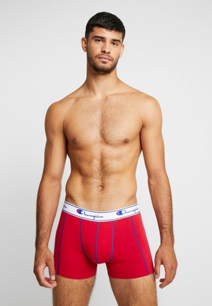 2PACK - Shorty - dark blue/red
