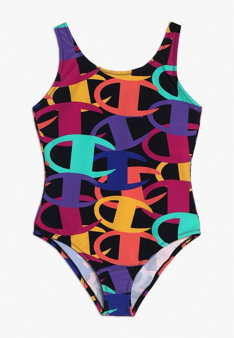 Champion - BEACHWEAR LAB - Costume da bagno - black/multicolor