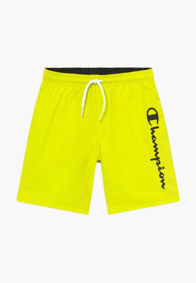 BERMUDA - Badeshorts - neon yellow
