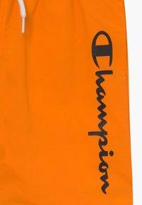 Champion - BERMUDA - Shorts da mare - orange - 3