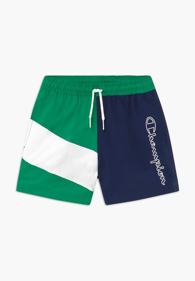 Badeshorts - green/blue/white