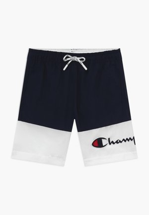 Uimashortsit - white/dark blue