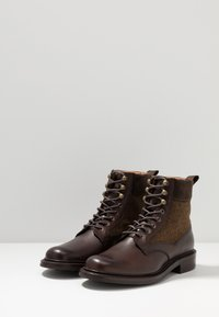 Cheaney - LIFFEY II - Lace-up ankle boots - mocha/brown - 2