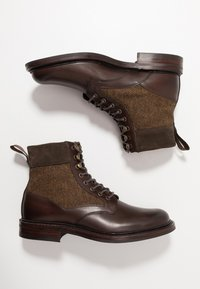 Cheaney - LIFFEY II - Lace-up ankle boots - mocha/brown - 1