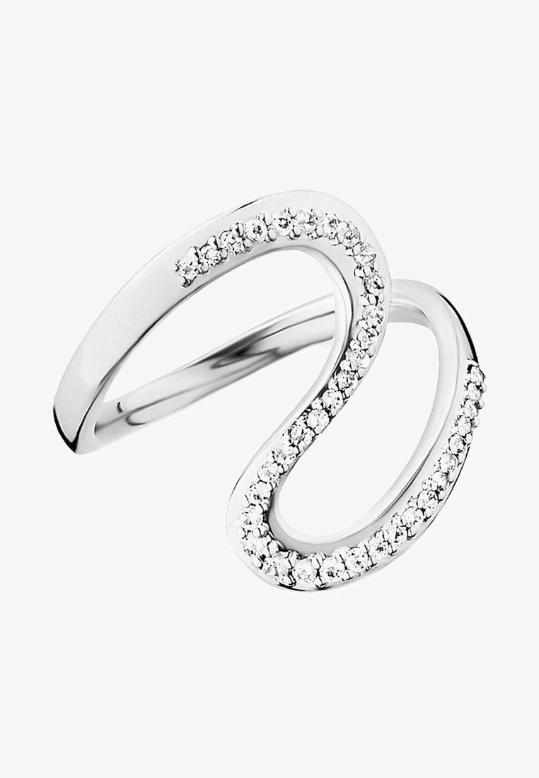 Caï - DAMEN - Ring - silver coloured