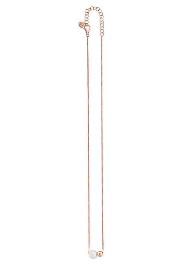 SÜSSWASSER - Necklace - rose gold-coloured