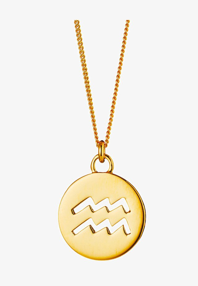 Halskette - gold-colored
