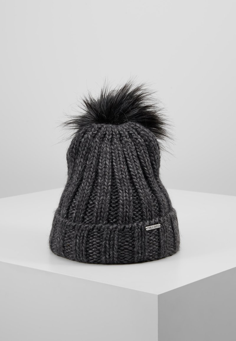 Chillouts - JULIA HAT - Mütze - dark grey