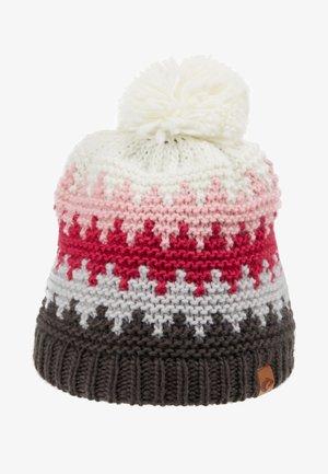 ROSS HAT - Bonnet - grey/pink