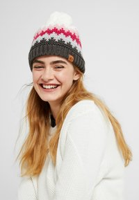 Chillouts - ROSS HAT - Beanie - grey/pink - 1