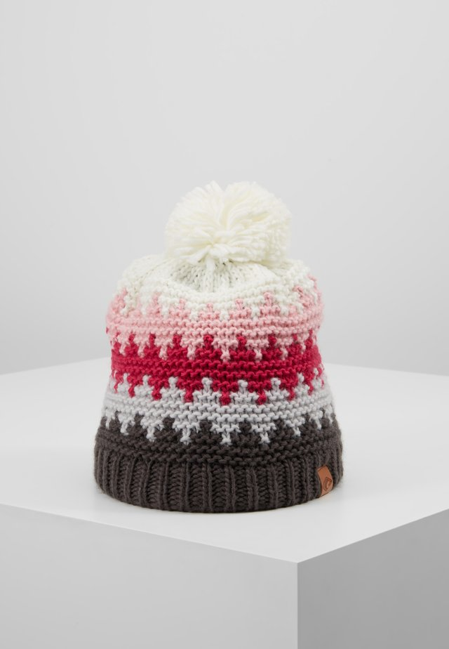 ROSS HAT - Beanie - grey/pink