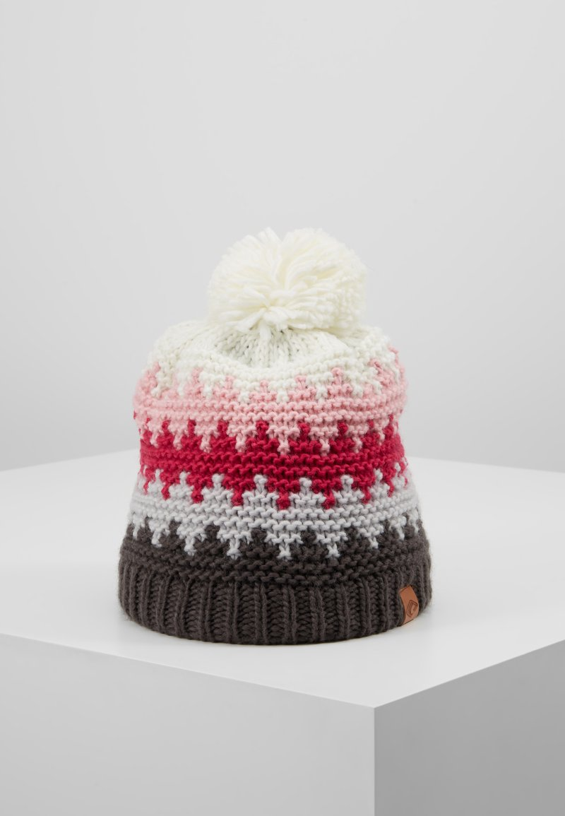 Chillouts - ROSS HAT - Beanie - grey/pink