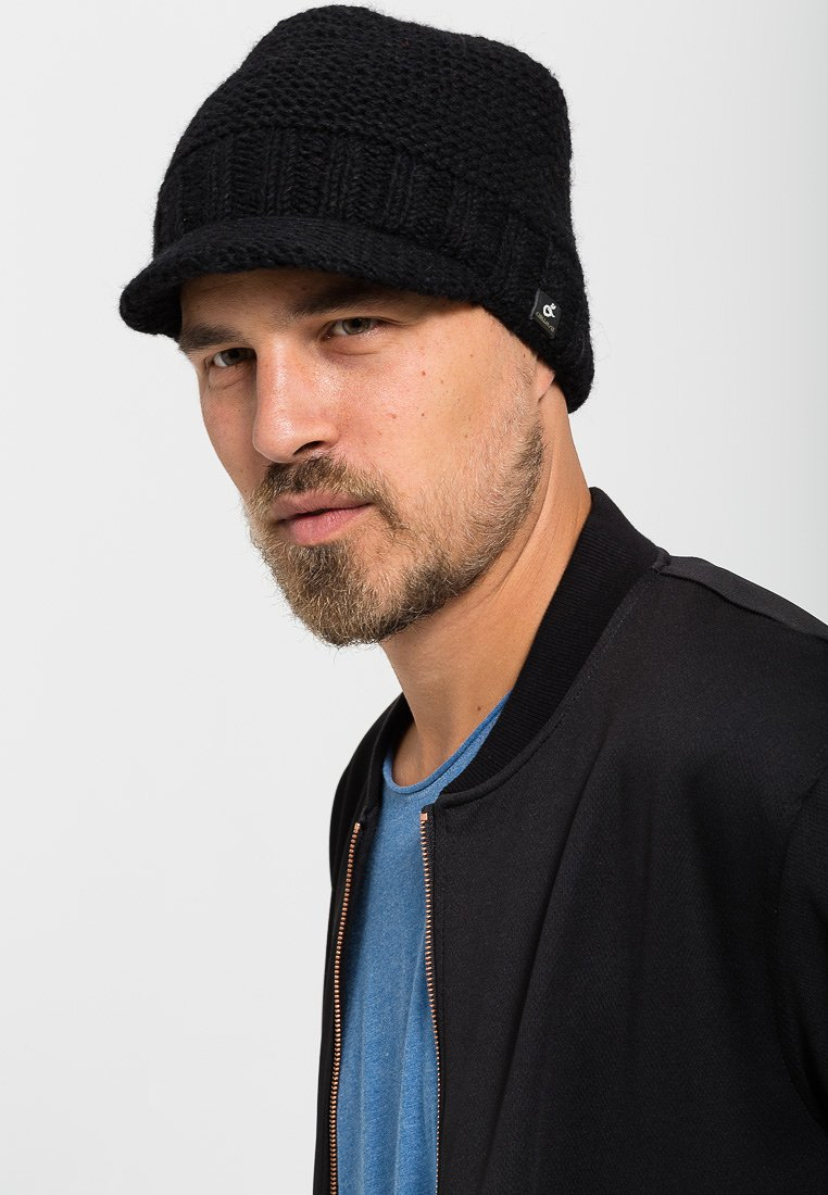 Chillouts - TEDDY HAT - Huer - black