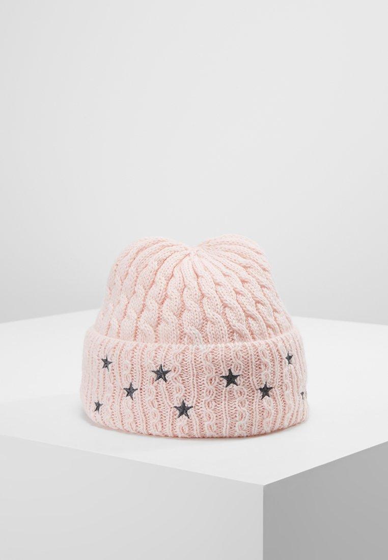 Chillouts - FRANZI HAT - Mütze - rose/grey