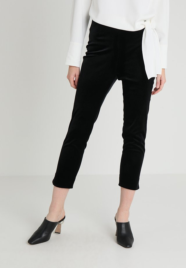 ALEXA TROUSER - Trousers - black