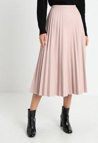 Coast - PLEATED SKIRT - A-line skirt - blush - 0