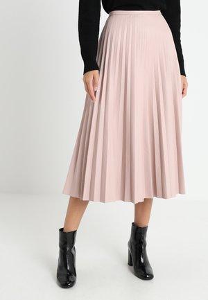 PLEATED SKIRT - Áčková sukně - blush
