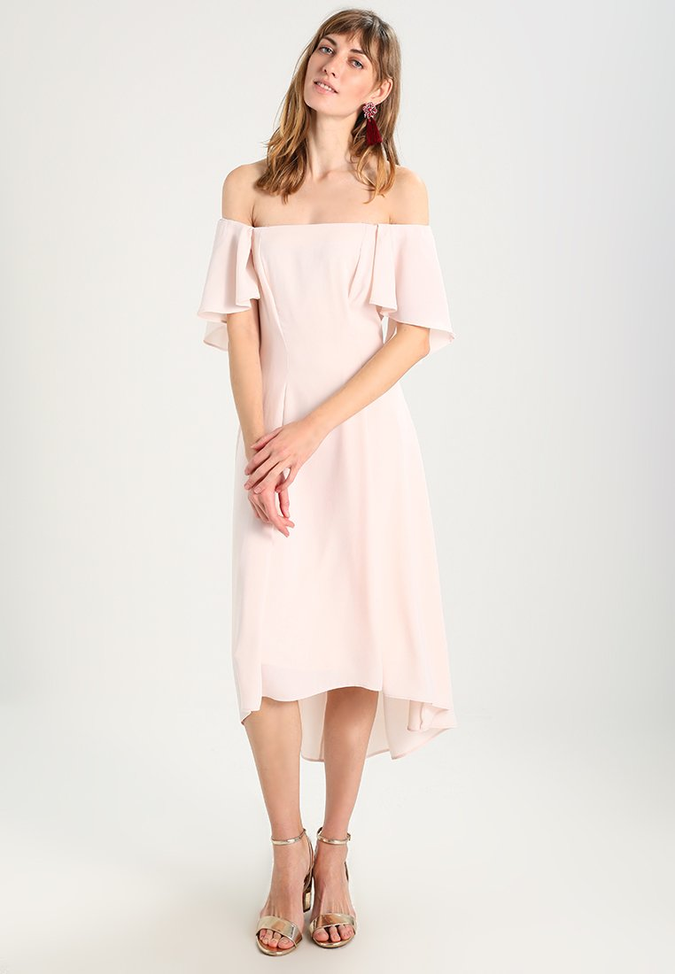Coast - BETTY MIDI DRESS - Cocktailkleid/festliches Kleid - blush