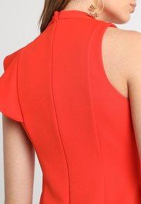 Coast - KARLY RUFFLE SHIFT DRESS - Shift dress - tomato - 4