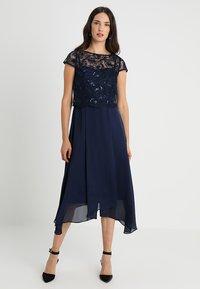 Coast - JADE BODICE DRESS  - Occasion wear - navy - 0
