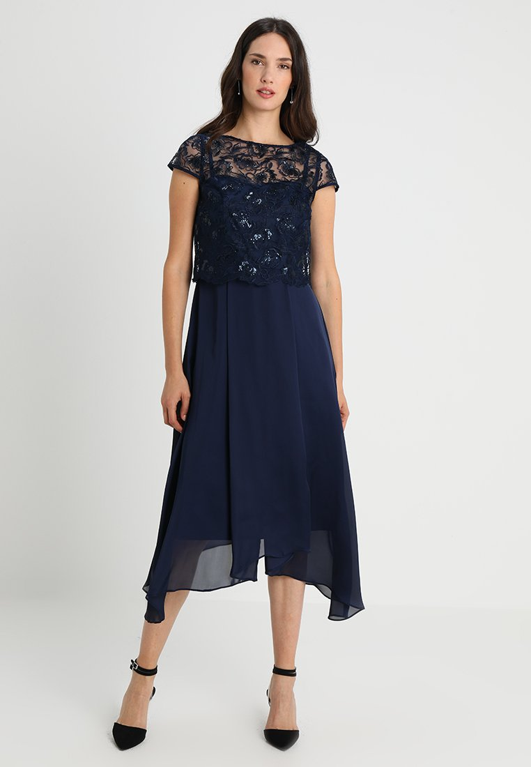 Coast - JADE BODICE DRESS  - Occasion wear - navy