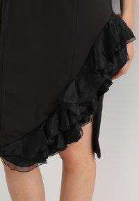 Coast - WOW CORSAGE MONO SHIFT - Shift dress - black - 6
