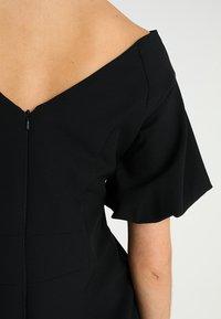 Coast - SHAILENE PUFF SLEEVE SHIFT DRESS - Shift dress - black - 6