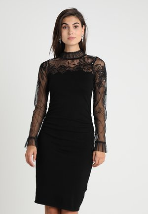 CERI DRESS - Neulemekko - black