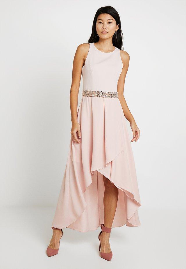 APRIL WITH EMBELLISHED TRIM - Společenské šaty - blush