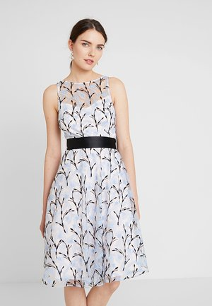 DANTE IVY EMBROIDERED DRESS - Robe de soirée - blue