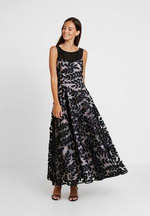 LEAF DRESS - Occasion wear - black