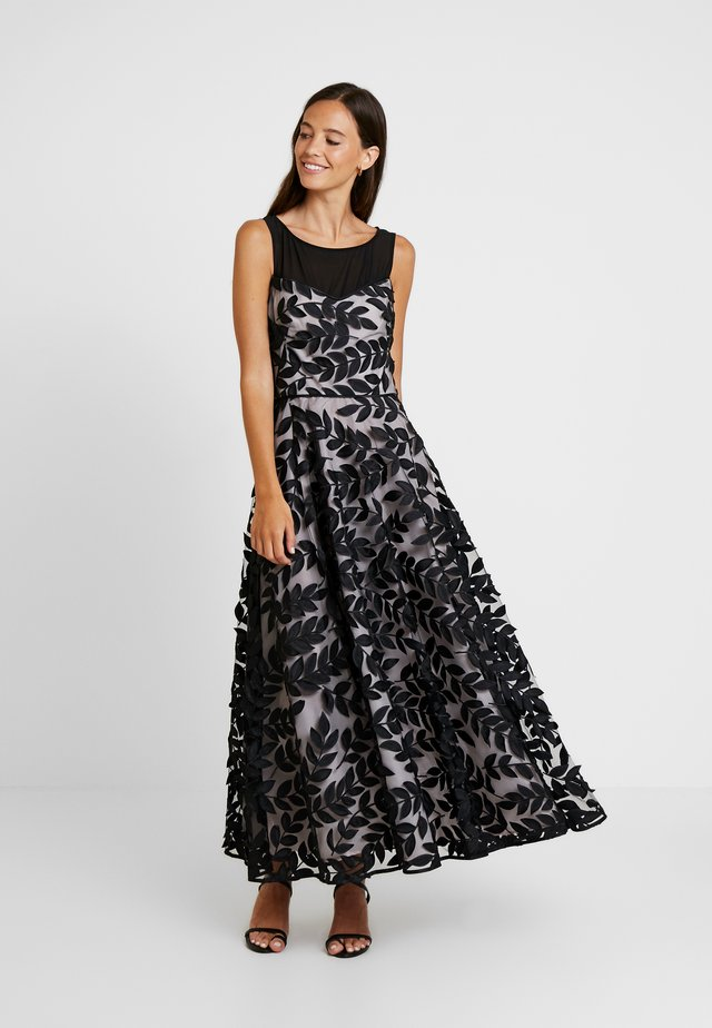 LEAF DRESS - Occasion wear - black