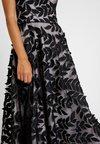 Coast - LEAF DRESS - Ballkleid - black