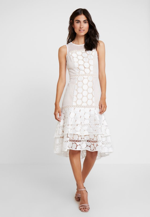 EVE GEO SHIFT - Cocktail dress / Party dress - ivory