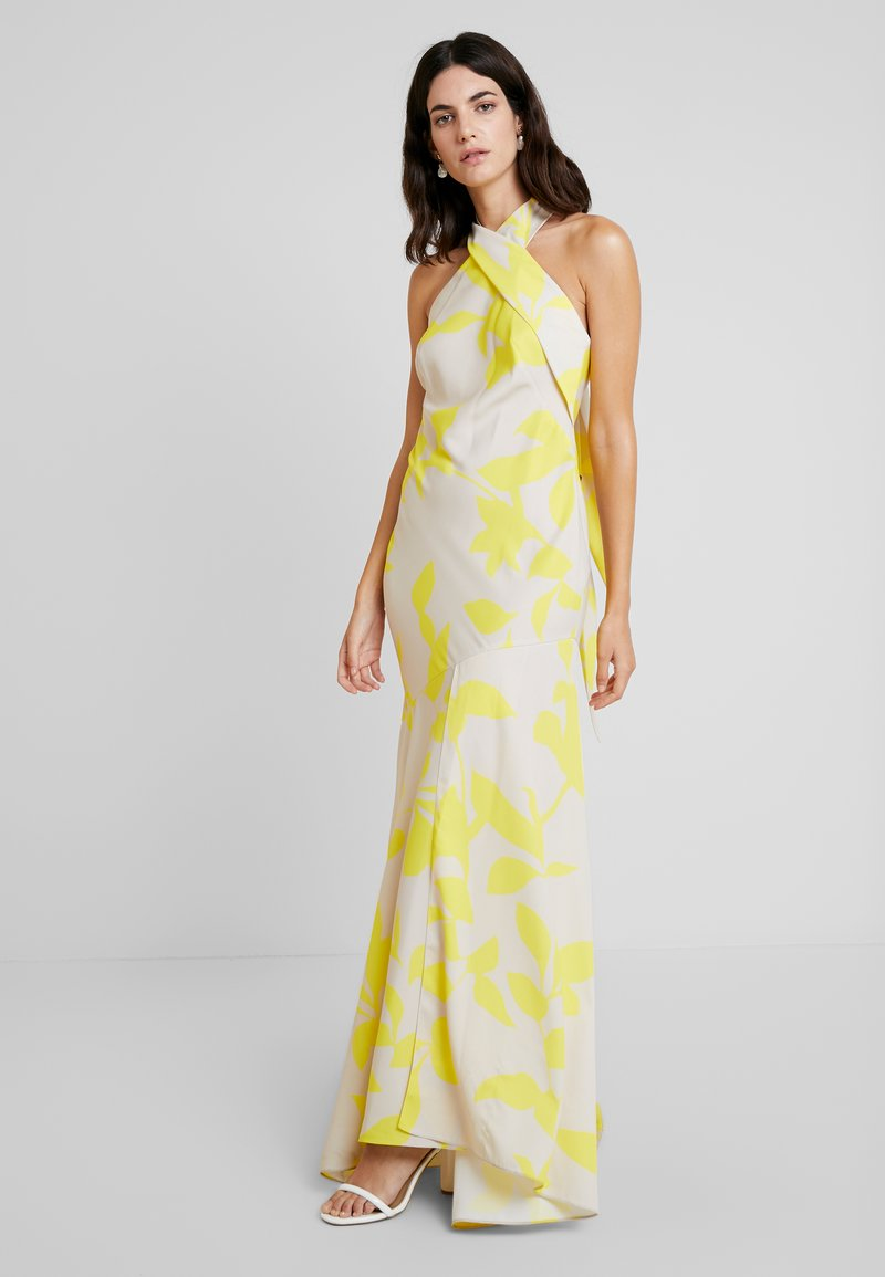 Coast - PRINTED HALTER NECK MAXI - Occasion wear - multi