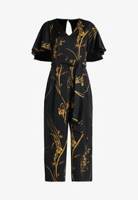 Coast - ELDORA PRINTED V NECK WIDE LEG - Jumpsuit - black - 5