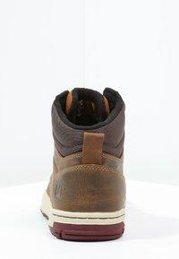 Cat Footwear - COLFAX - Botines con cordones - dark beige - 3