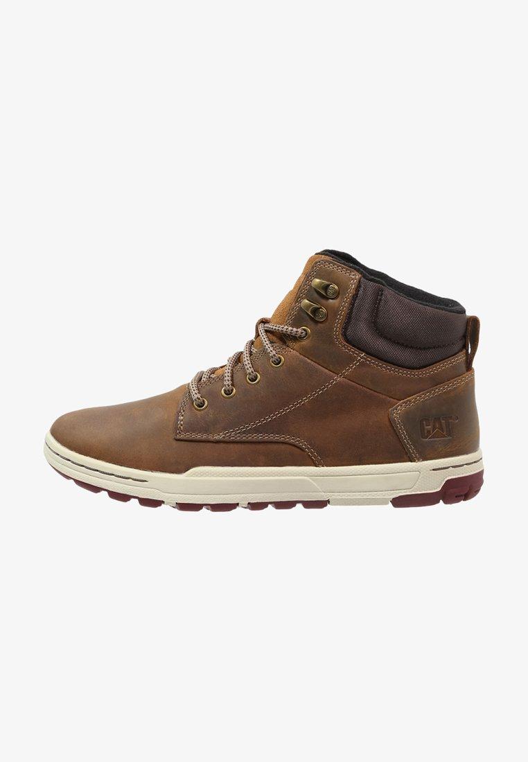 Cat Footwear - COLFAX - Botines con cordones - dark beige