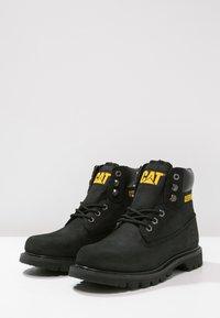 Cat Footwear - COLORADO - Snörstövletter - black - 2